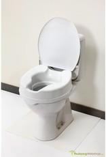 Toiletverhoger met deksel - 10cm
