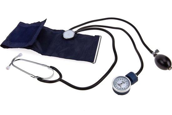 Manuele bloeddrukmeter met bijhorende stethoscoop