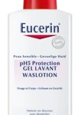 Eucerin Waslotion (met pomp) 400ml