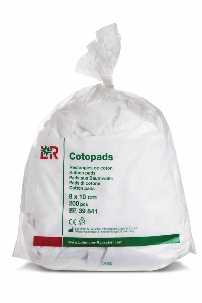 Lohmann & Rauscher Cotopads Cotopads - 8x10cm per 200