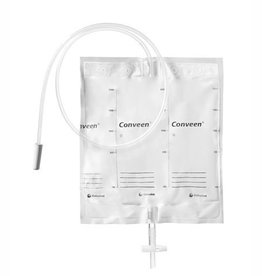 Coloplast Poche de nuit Conveen® Basic - 2000ml - tube lisse 100cm