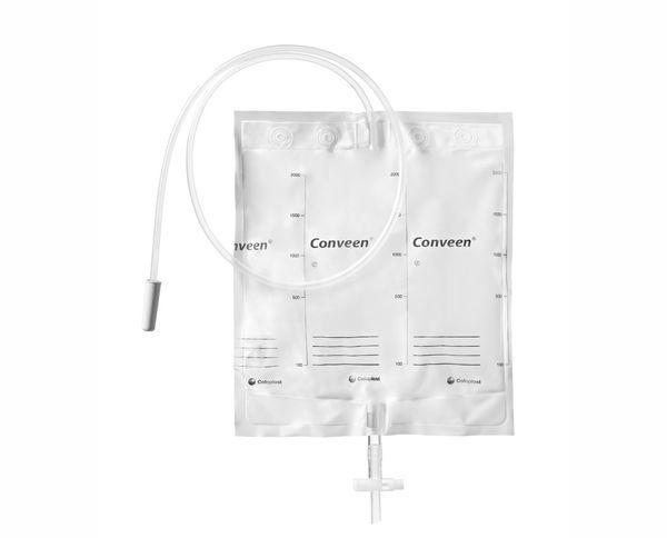 Coloplast Conveen® Basic nachtopvangzak - 2000ml - gladde tube 100cm