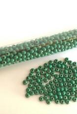 Metallperlen 8/0 - Heavy Metal Seed Beads - green