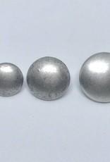 "Metallknopf ""simple"", altsilberfarben"