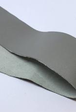 Lederstreifen 3 cm  für Sami Armband, Farbe hellgrau