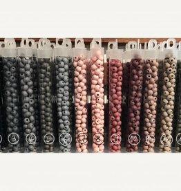 Holzperlen 6 mm - Farben 1-14