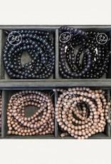 Holzperlen 6 mm, Farben 29-37