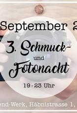 Schmucknacht - Freitag, 14.9.2018