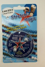"elastische, transparente Kordel  ""Stretch Magic"", 0,5 mm"