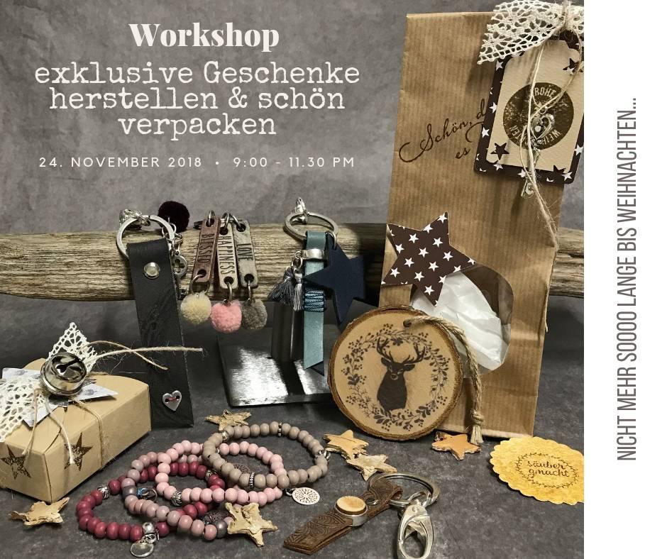 Geschenke-Workshop - Sa, 24.11.2018