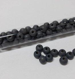 Perlen aus Holz, 6 mm, Farbe 08 dark montana
