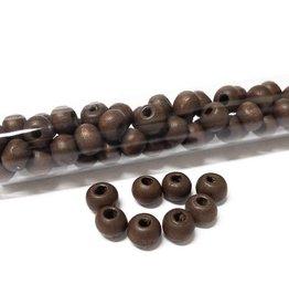 Perlen aus Holz, 6 mm, Farbe B45 brown