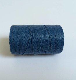 gewachstes Leinengarn 3 ply, Farbe 06 royal blue