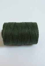 gewachstes Leinengarn 3 ply, Irish Waxed Linen, Farbe 13 dark emerald green