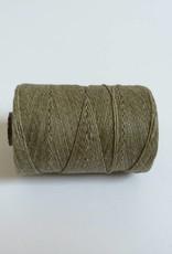gewachstes Leinengarn 4 ply, Irish Waxed Linen, Farbe 15 olive drab