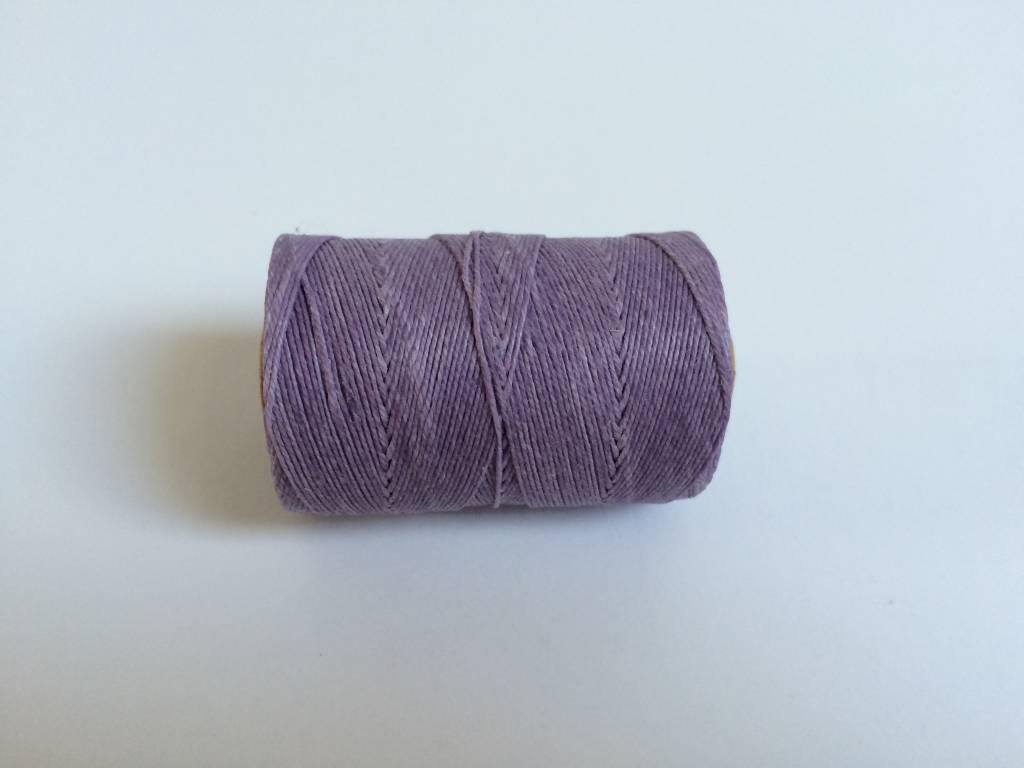 gewachstes Leinengarn 3 ply, Irish Waxed Linen, Farbe 17 lavender