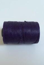 gewachstes Leinengarn 3 ply, Irish Waxed Linen, Farbe 18 plum