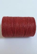 gewachstes Leinengarn 3 ply, Irish Waxed Linen, Farbe 22 country red