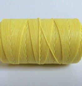 gewachstes Leinengarn 3 ply, Farbe 29 lemon yellow