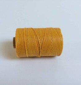 gewachstes Leinengarn 4 ply, Farbe 30 autumn yellow