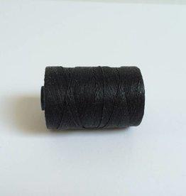 gewachstes Leinengarn 3 ply, Farbe 36 black