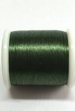 Perlenfaden KO / Miyuki, Farbe dunkelgrün