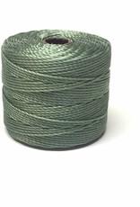BeadSmith Super-Lon Nylongarn Standard TEX 210, Farbe 33 celery green