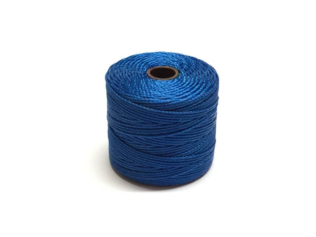 BeadSmith Super-Lon Nylongarn Standard TEX 210, Farbe 45 blue lagoon