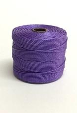 BeadSmith Super-Lon Nylongarn Standard TEX 210, Farbe 53 violet