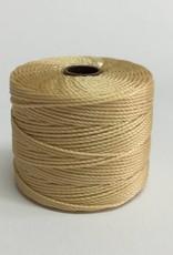 BeadSmith Super-Lon Nylongarn Standard TEX 210, Farbe 78 wheat