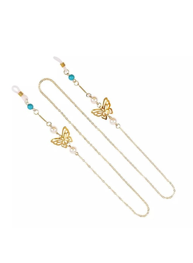 Butterfly Glasses Chain