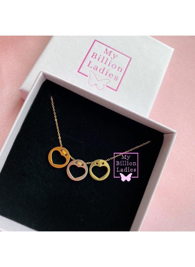 Heart Coin Necklace