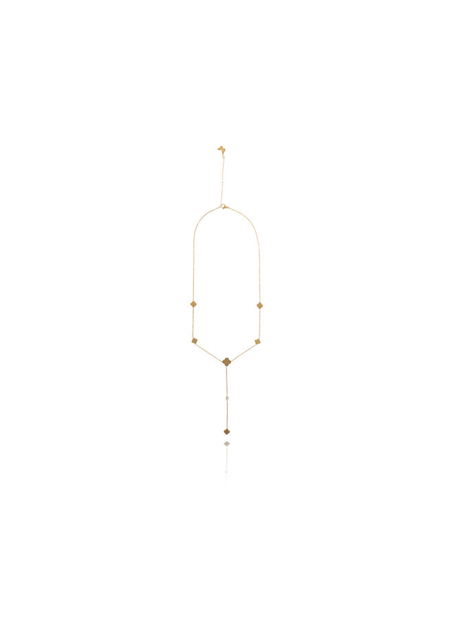 Long Diamond Necklace