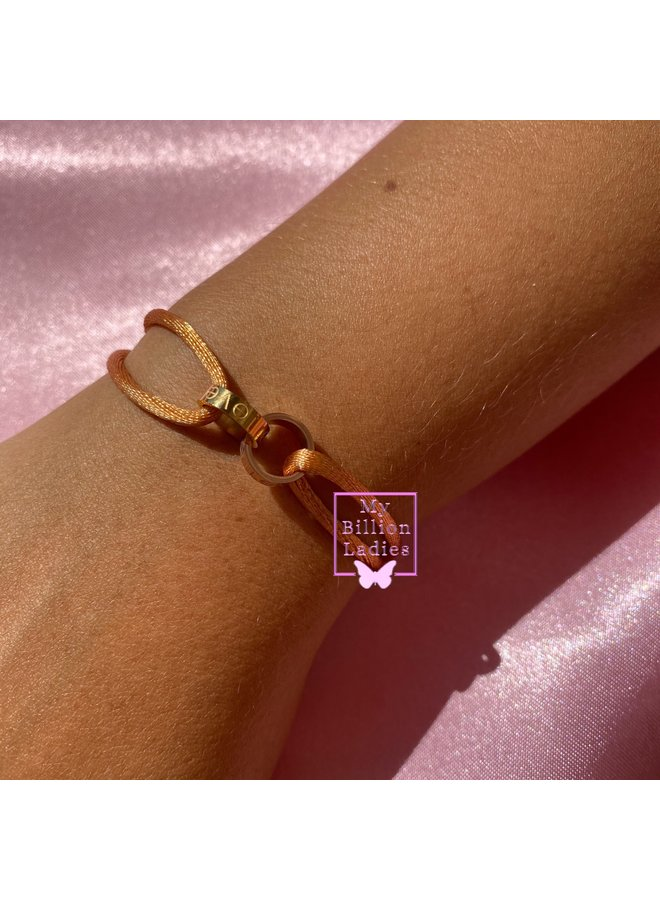 Two Love Ring Gold Rose