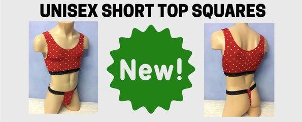 Unisex Short Top Squares