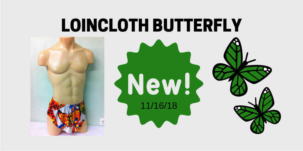 Loincloth Butterfly, Mini