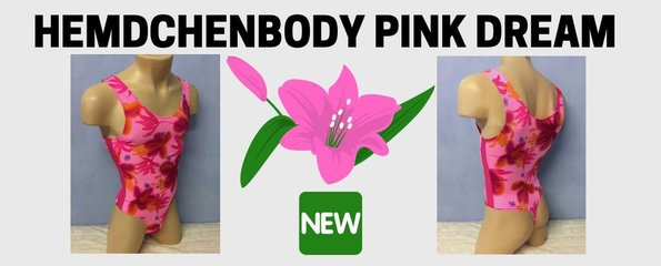 Hemdchenbody Lycra Pink Dream