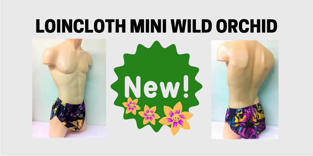 Loincloth Mini Wild Orchid
