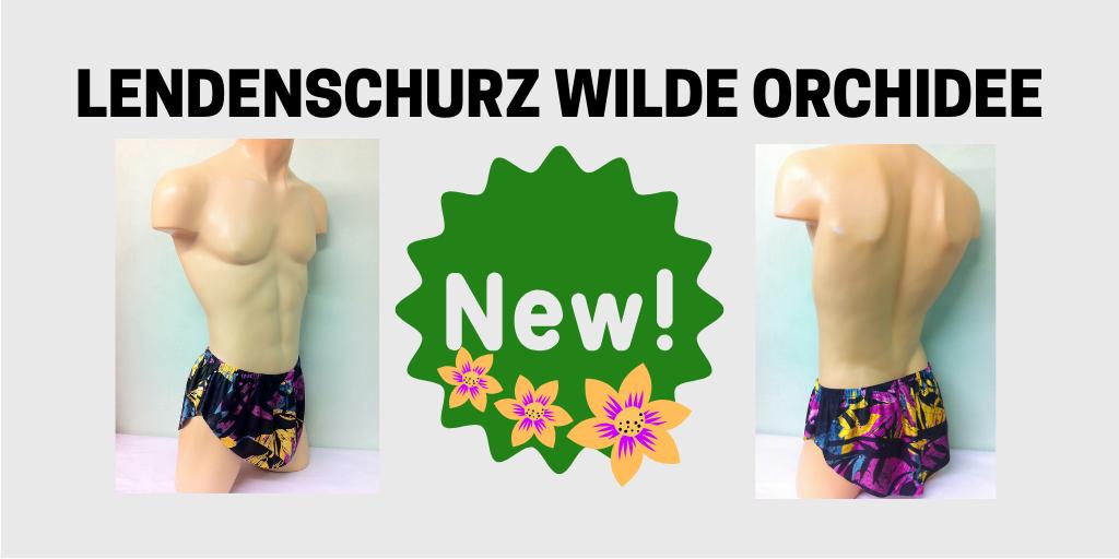 Lendenschurz Wilde Orchidee