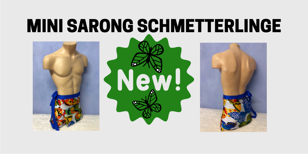 Mini Sarong Schmettterlinge3