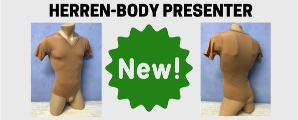 Herren-Body Presenter