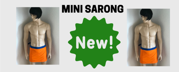 Mini Sarong Orange