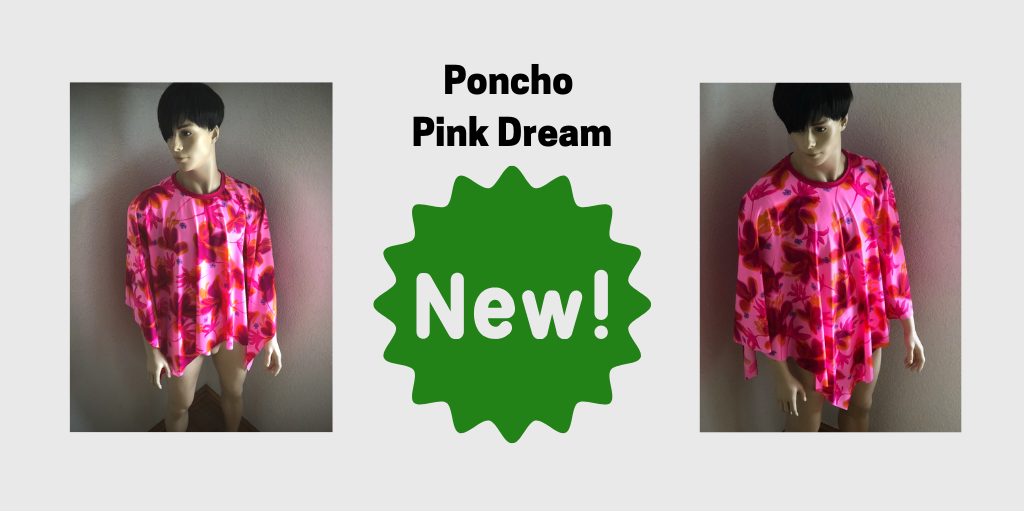 Poncho Pink Dream