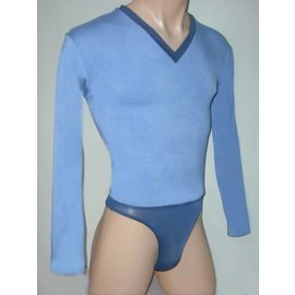 Male-Bodysuit Two-Tone