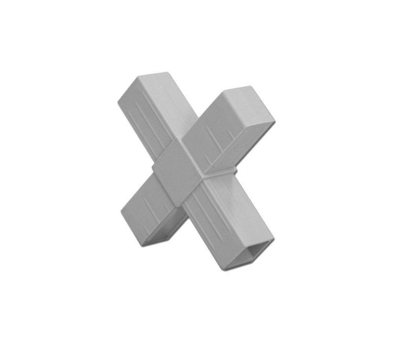 4-Weg (Kruis)  - 20 x 20 x 1,5mm