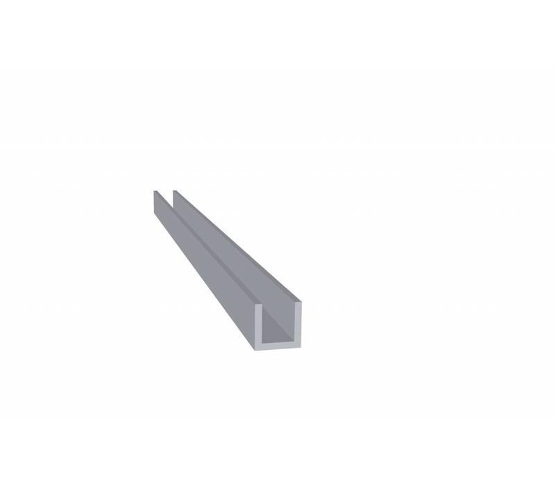 Aluminium U Profiel 10 x 10 x 10 x 1,5 mm - U Profiel - 120 meter in 6000 mm
