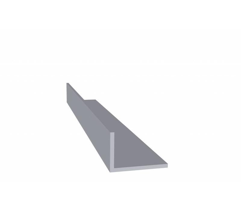 Aluminium profiel 20 x 30 x 2,0 mm - Hoeklijn - 60 meter in 6000 mm