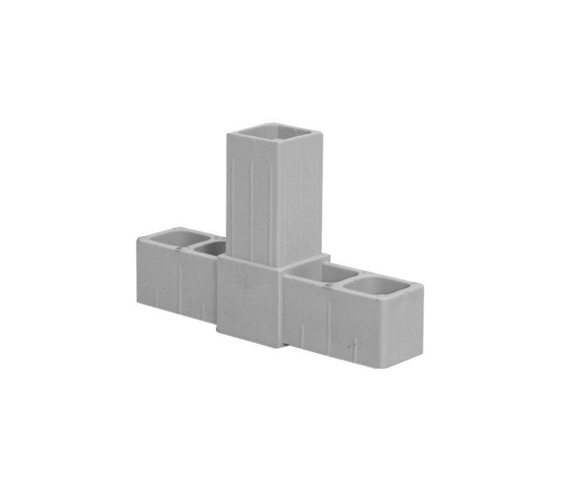 25 x 25 x 2,0mm - 3-Weg (T)