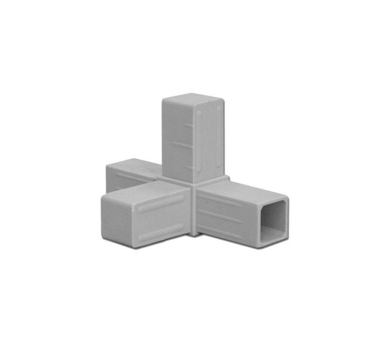 25 x 25 x 2,0mm - 4-Weg  (Hoek)