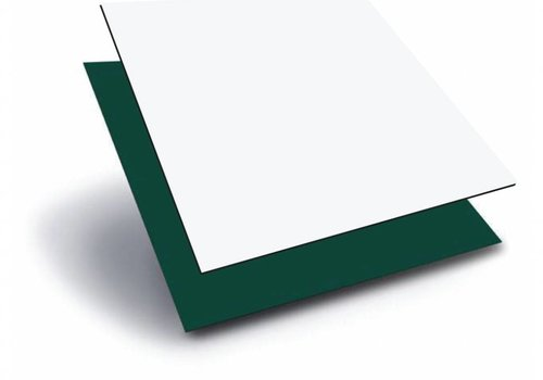 Obie ACP 1000 x 2000 x 3,0mm - Wit / Groen
